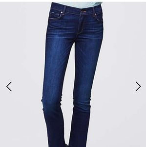 Loft perfect curvy boot jeans
